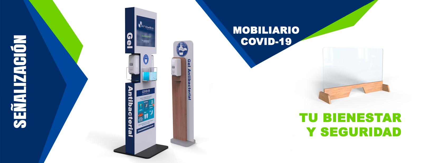 Señalización Mobiliario COVID
